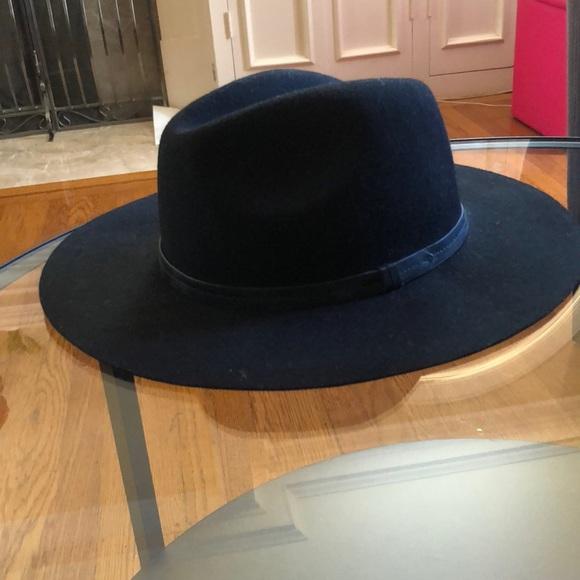 7491a74d598 Ecote Accessories - Chic Ecote Black Felt Panama Hat
